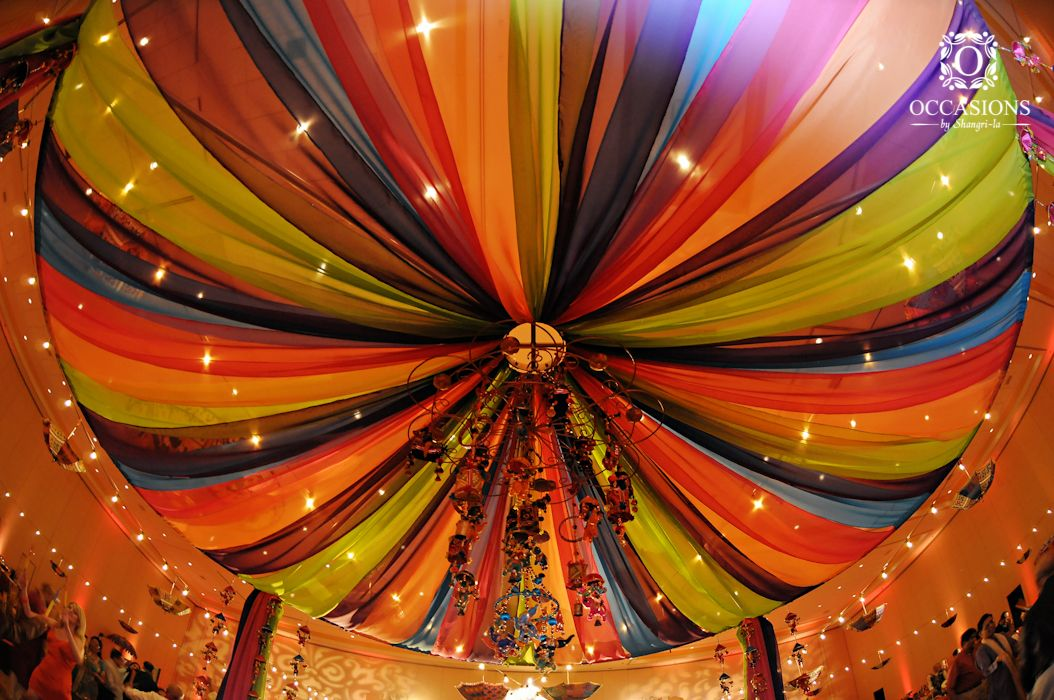 Sangeet garba mehndi decor occasions by shangri la for Mehndi decoration