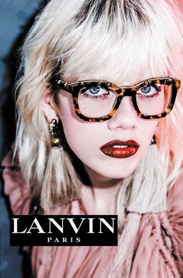 7559d5030fb Lanvin Spring Summer 2016 Eyewear Campaign - Marjan Jonkman - But Sou Lai