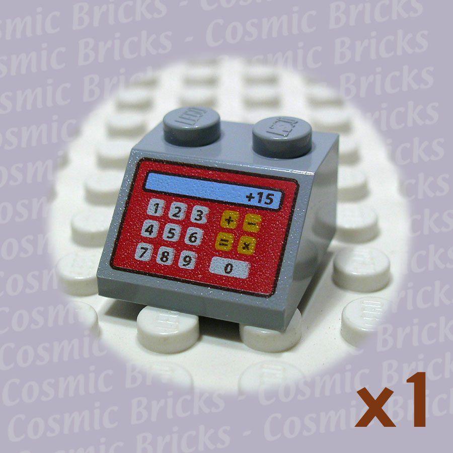Lego Medium Stone Grey Slope 45 2x2 Cash Machine 4622060 3039 Single N Grey Stone Cash Machine Stone