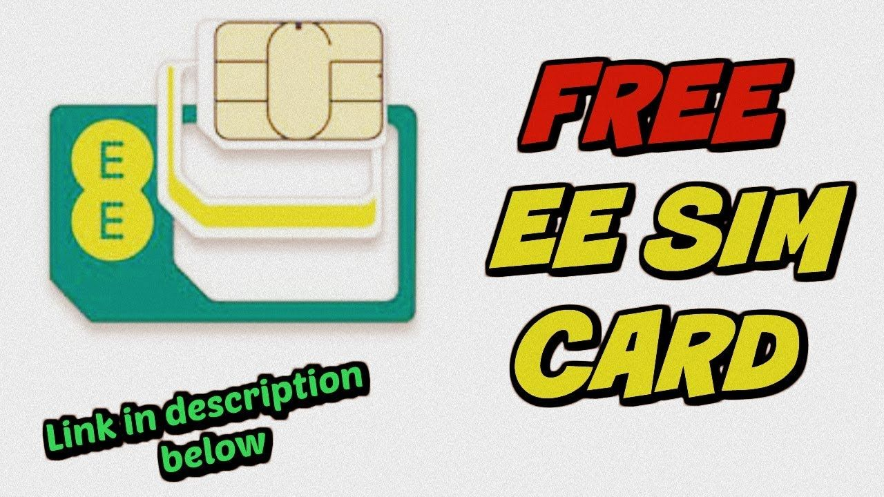 Get free ee sim cards with free shipping no need to buy