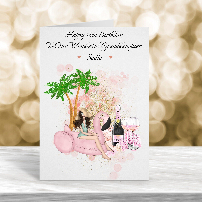 Personalised 18th Birthday Card 21st Birthday Card Any Age Etsy 18th Birthday Cards 21st Birthday Cards 18th Birthday