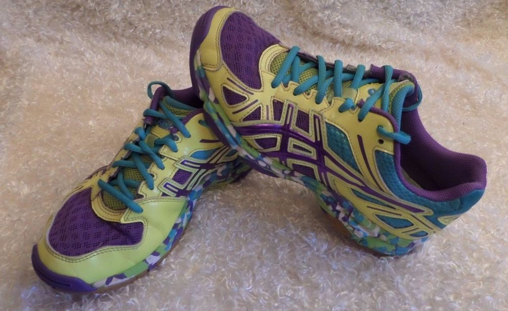 Asics Gel Flashpoint Femme Court Chaussures Court De 5827 Chaussures Volleyball Taille 7 B256N GC 12ea791 - welovebooks.website