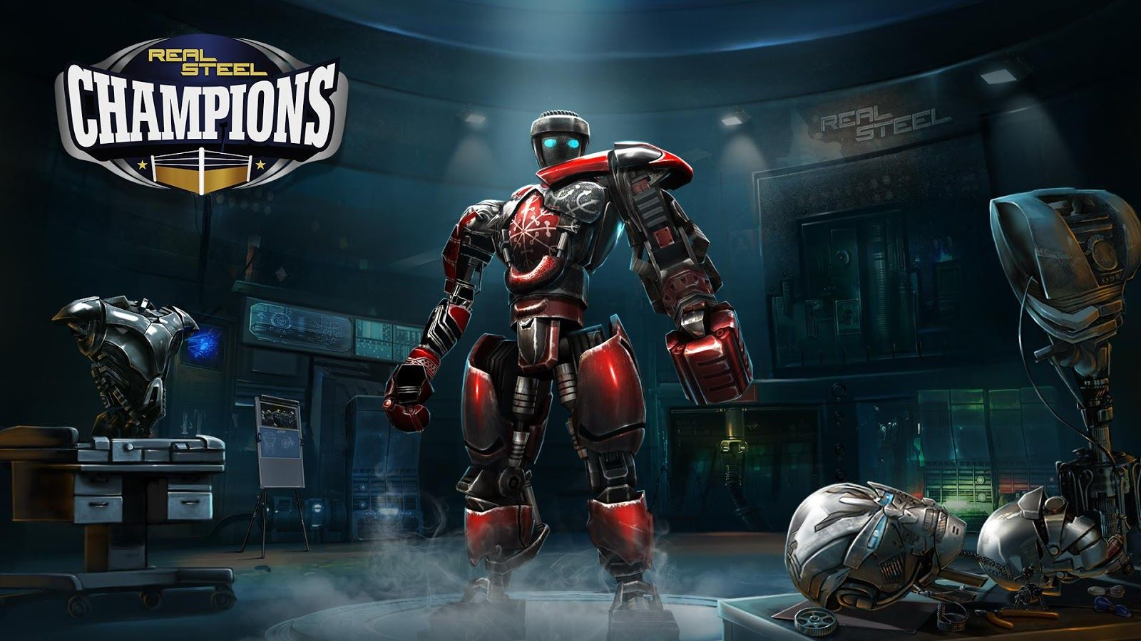 Real Steel Boxing Champions gold hack mod apk and tricks