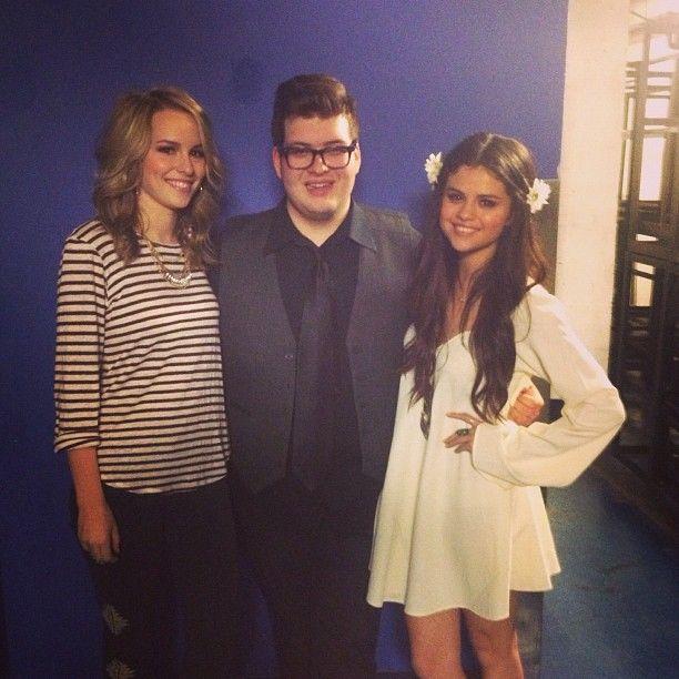 Bridgit with Selena Gomez