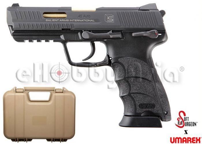EAC Custom SAI Arms HK45 GBB Pistol