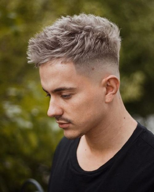 40 Best Men S Hairstyles Cool Haircuts For Men With Thick Hair Men S Style Messy Blonde Hai Cool Hairstyles For Men Thick Hair Styles Mens Haircuts Fade