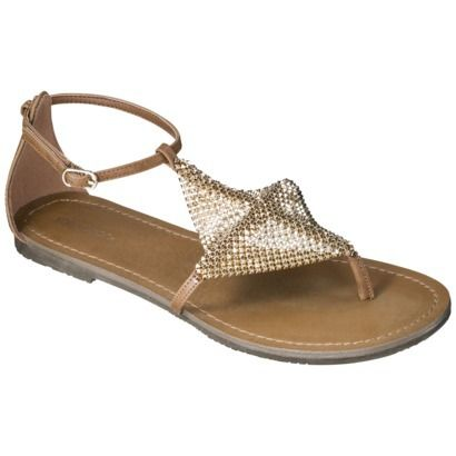 Xhilaration® Sidney Women's Sandals Gold. Excellent Free Shipping at Target.