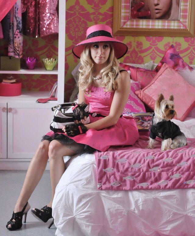 Sharpay Evans sparkly pink dress