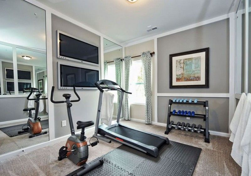 47 Extraordinary Basement Home Gym Design Ideas Gym Room At Home Workout Room Home Small Home Gyms