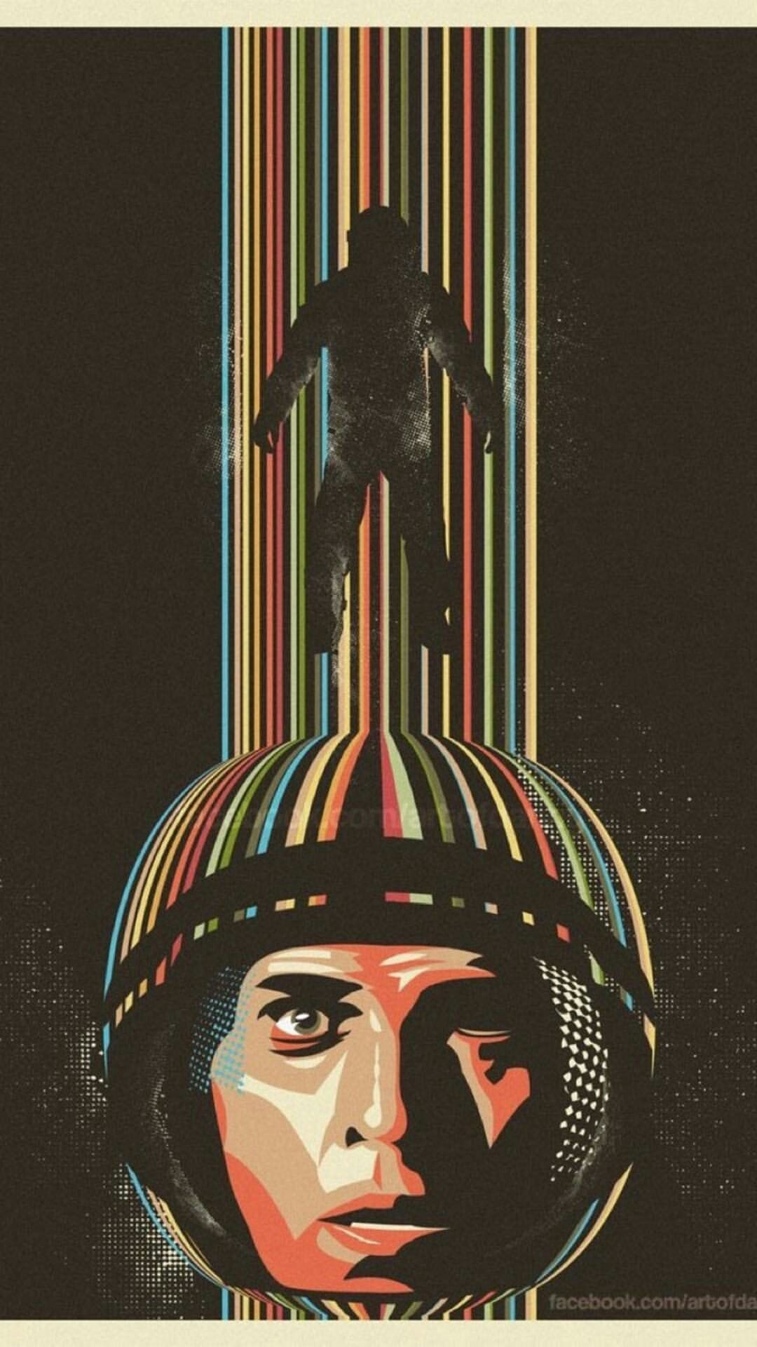 retro astronaut posters - 736×920