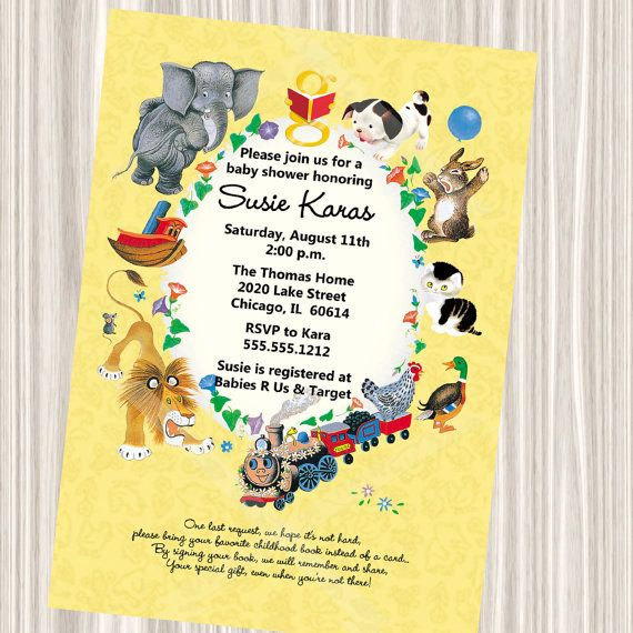 11 Awesome Invites For A Book Themed Baby Shower Babycenter Blog
