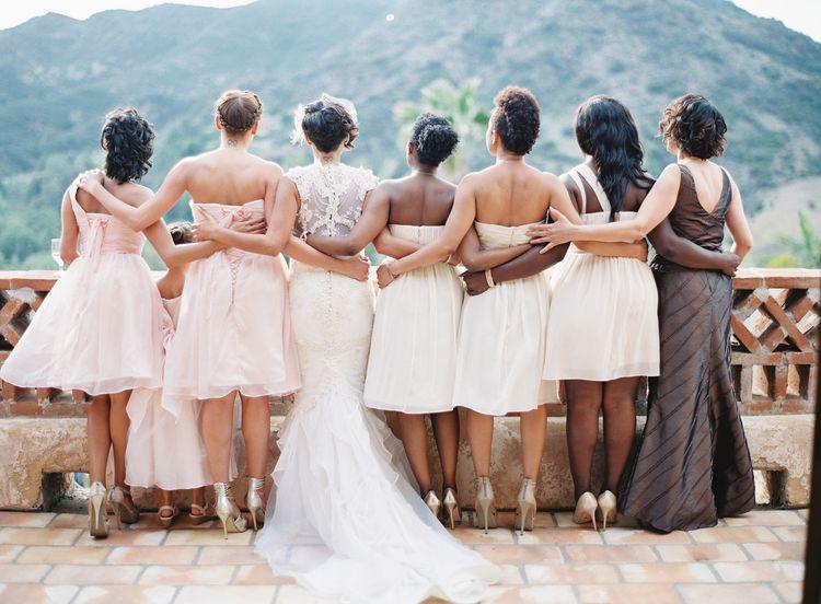Malibu Wedding :: Photography Kurt Bomer #Malibu #wedding #events #bridesmaids #blushpink #vintagewedding #rusticwedding