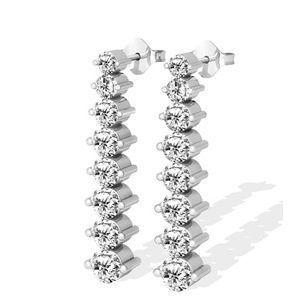 Diamantohrringe - 1.00 Karat Diamanten aus 585er Gold für nur 1299,00 Euro bei www.diamantring.be