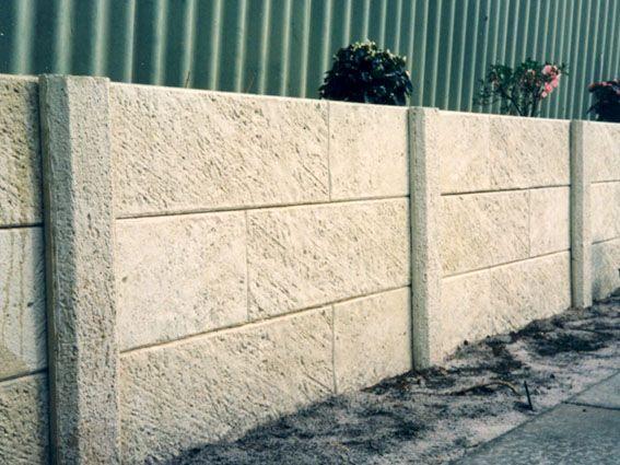 Panel Post Retaining Wall Contactors Perth Retaining Wall Backyard Retaining Walls Concrete Retaining Walls