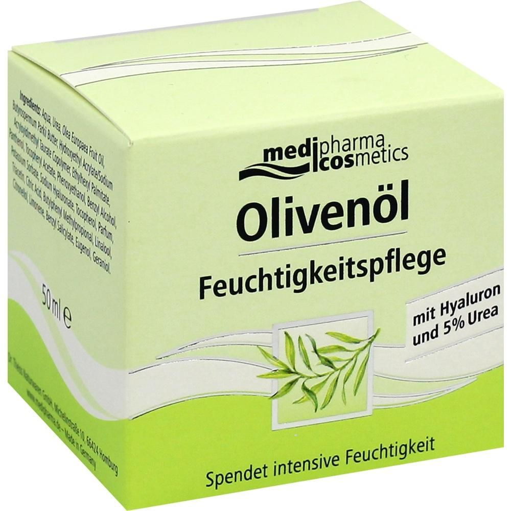 OLIVENÖL Feuchtigkeitspflege Creme:   Packungsinhalt: 50 ml Creme PZN: 05139352 Hersteller: Dr. Theiss Naturwaren GmbH Preis: 9,27 EUR…