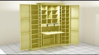 Como forrar y vestir un armario empotrado youtube - Vestir un armario por dentro ...