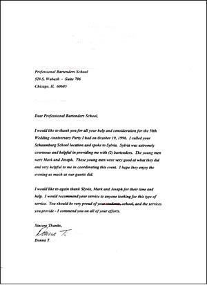 sample service appreciation letter for good letters Home Design