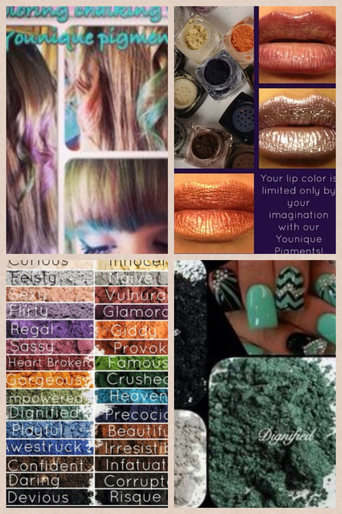 Younique Mineral Pigments so saturated and loaded with color, not ...