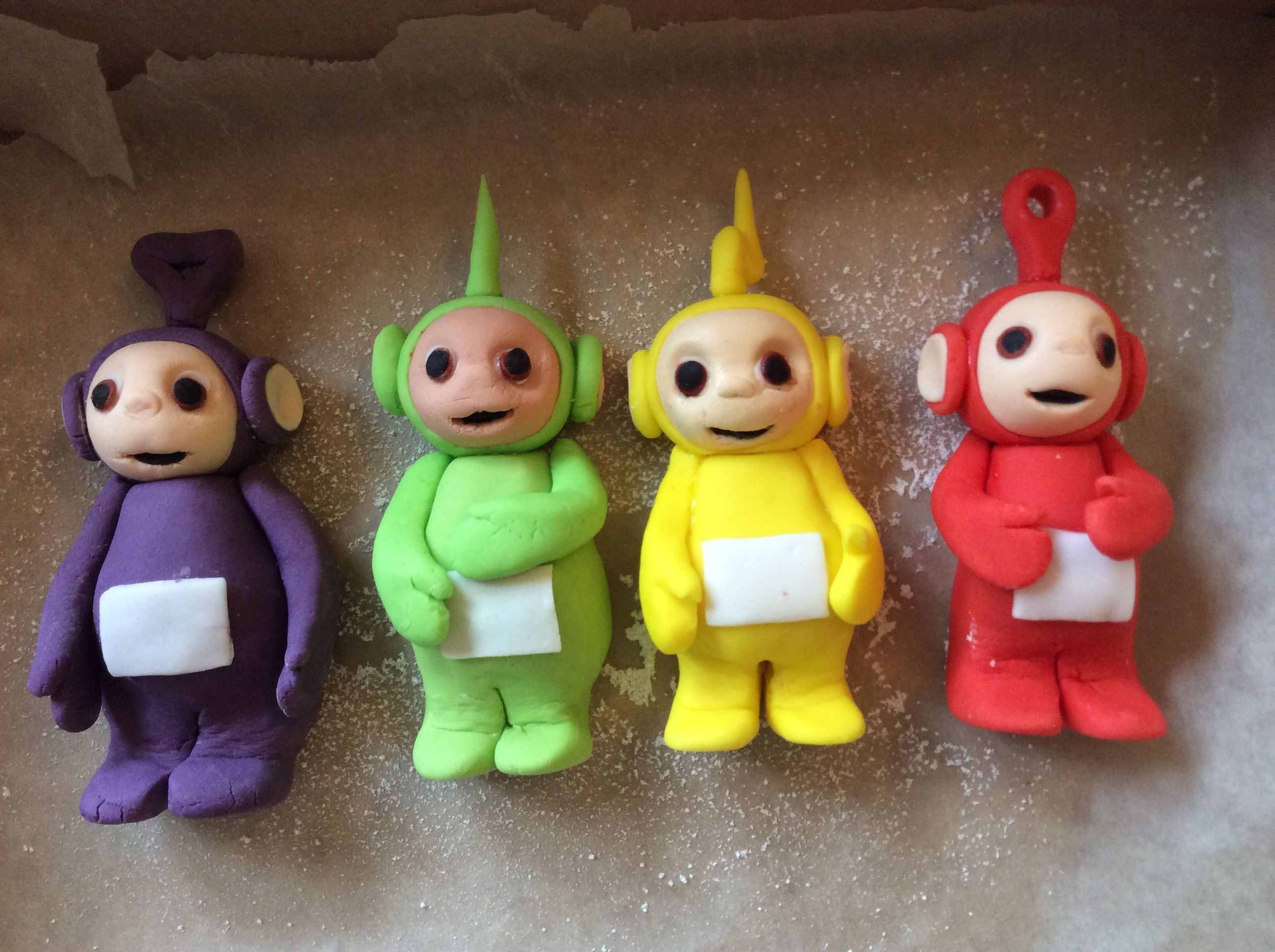 Teletubbies Cake Topper 2nd Birthday Teletubbies Cake