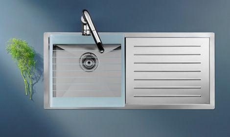 stainless steel kitchen sink by roca new x tra sink - Kitchen Sinks Pictures