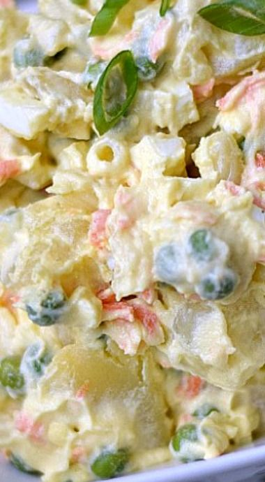 Best Hawaiian Potato Salad Recipe