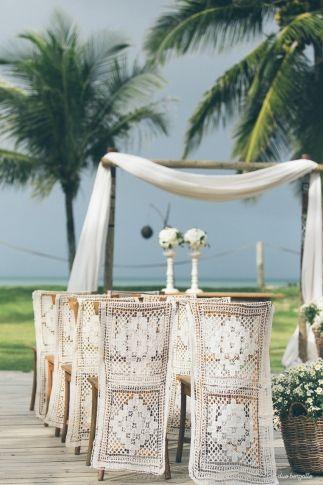 Decoração praiana para um miniwedding