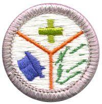 Emergency Preparedness Merit Badge Boy Scouts Merit Badges Merit Badge Badge