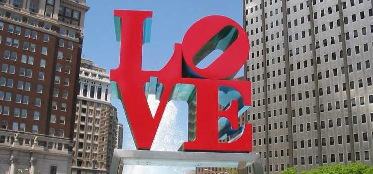 Visita a Filadelfia Estados Unidos