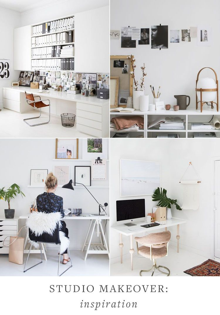Studio Space Before Makeover Plan Home Office Design Interior