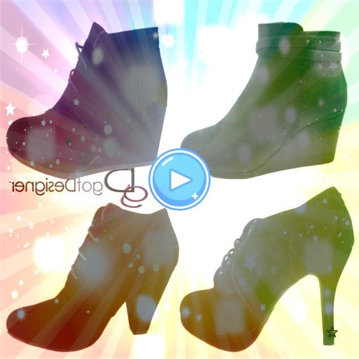 1978  NEW Womens Wedge Bootie Oxford High Heel Ankle Boot Shoes Fashion Plat 1978  NEW Womens Wedge Bootie Oxford High Heel Ankle Boot Shoes Fashion Plat Black High Heels...