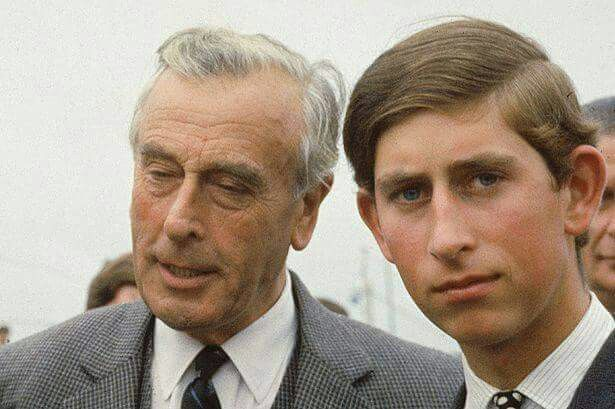 """Prince Charles called Lord Louis Mountbatten his """"Honorary ..."""