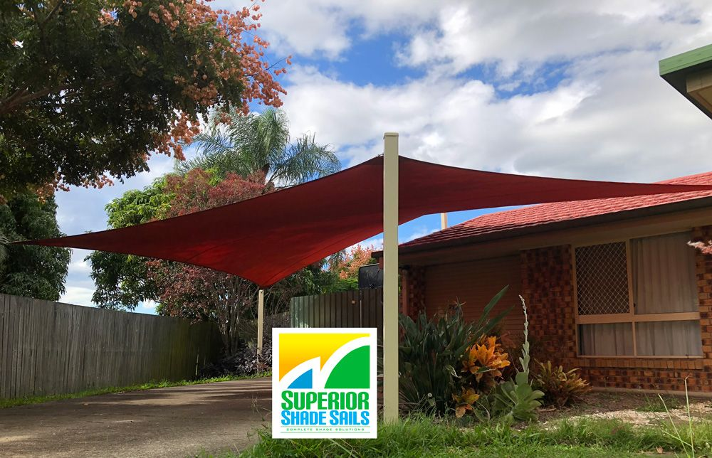 Replacement 5 Point Carport Shade Sail In In The New Rainbow