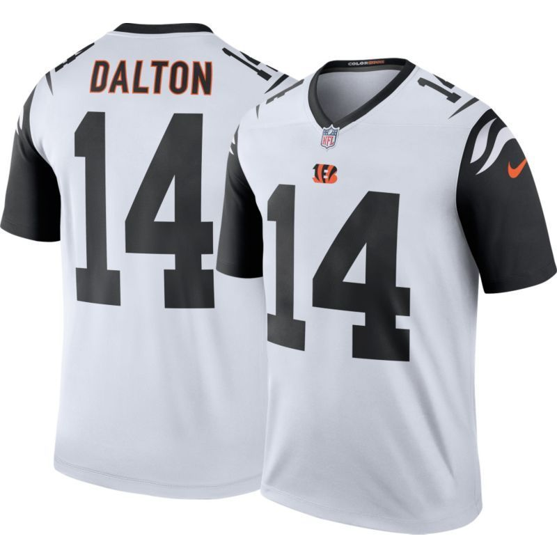 ... Bengals 14 Andy Dalton Black Impact Game LIMITED NFL Jerseys Nike Mens  Color Rush 2016 Cincinnati Andy Dalton 14 Legend Game Jersey 3aea918b7