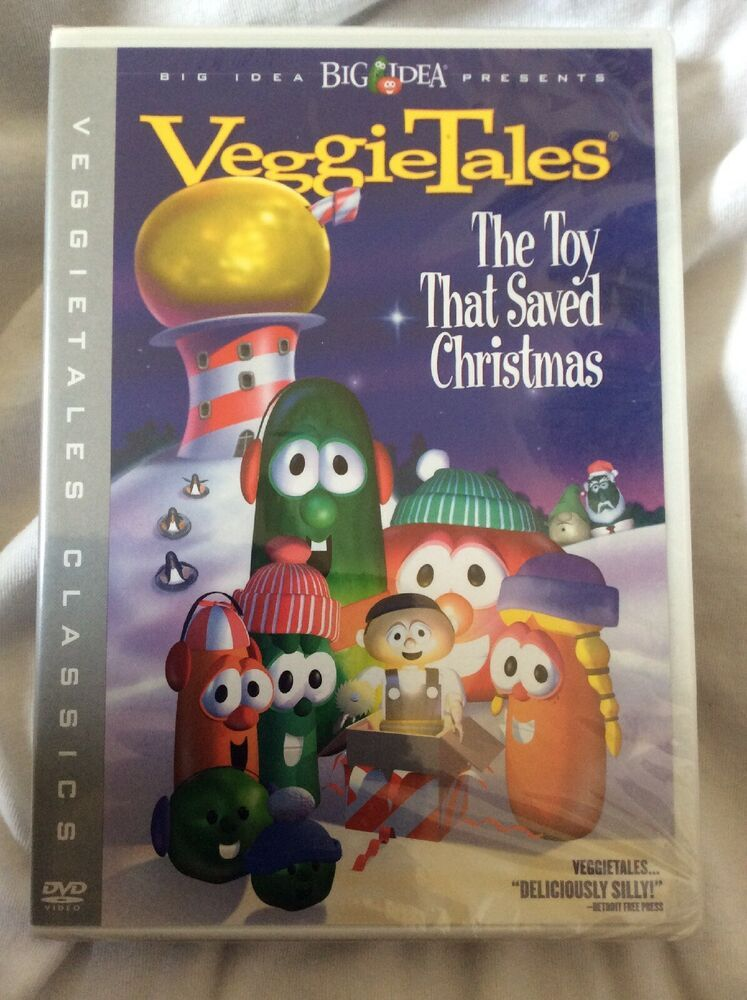 VeggieTales Classics The Toy That Saved Christmas (DVD