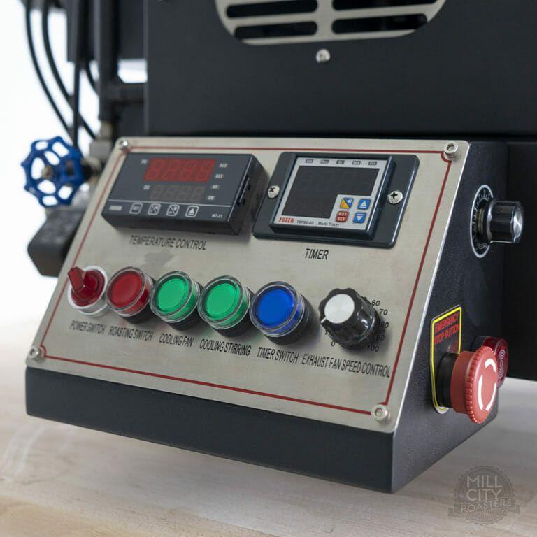 1kg Gas Coffee Roaster Mill City Roasters In 2020 Coffee Roasters Roaster Coffee Flavor