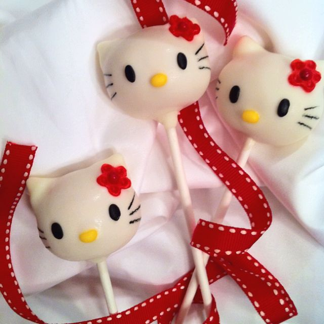 hello kitty cake pops - photo #23