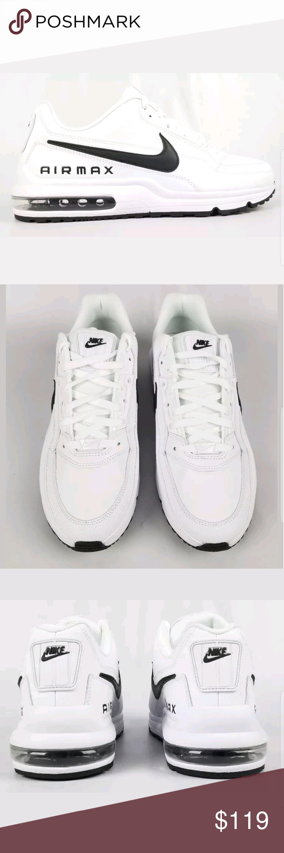 400d2fe22b29be Nike Air Max LTD 3 Mens 687977107 White Black 11.5 Nike Air Max LTD 3 Mens