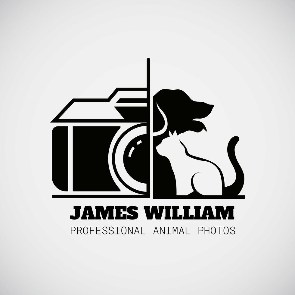 Animal Photographer Logo Photographer Logo Camera Logo Camera Logos Design