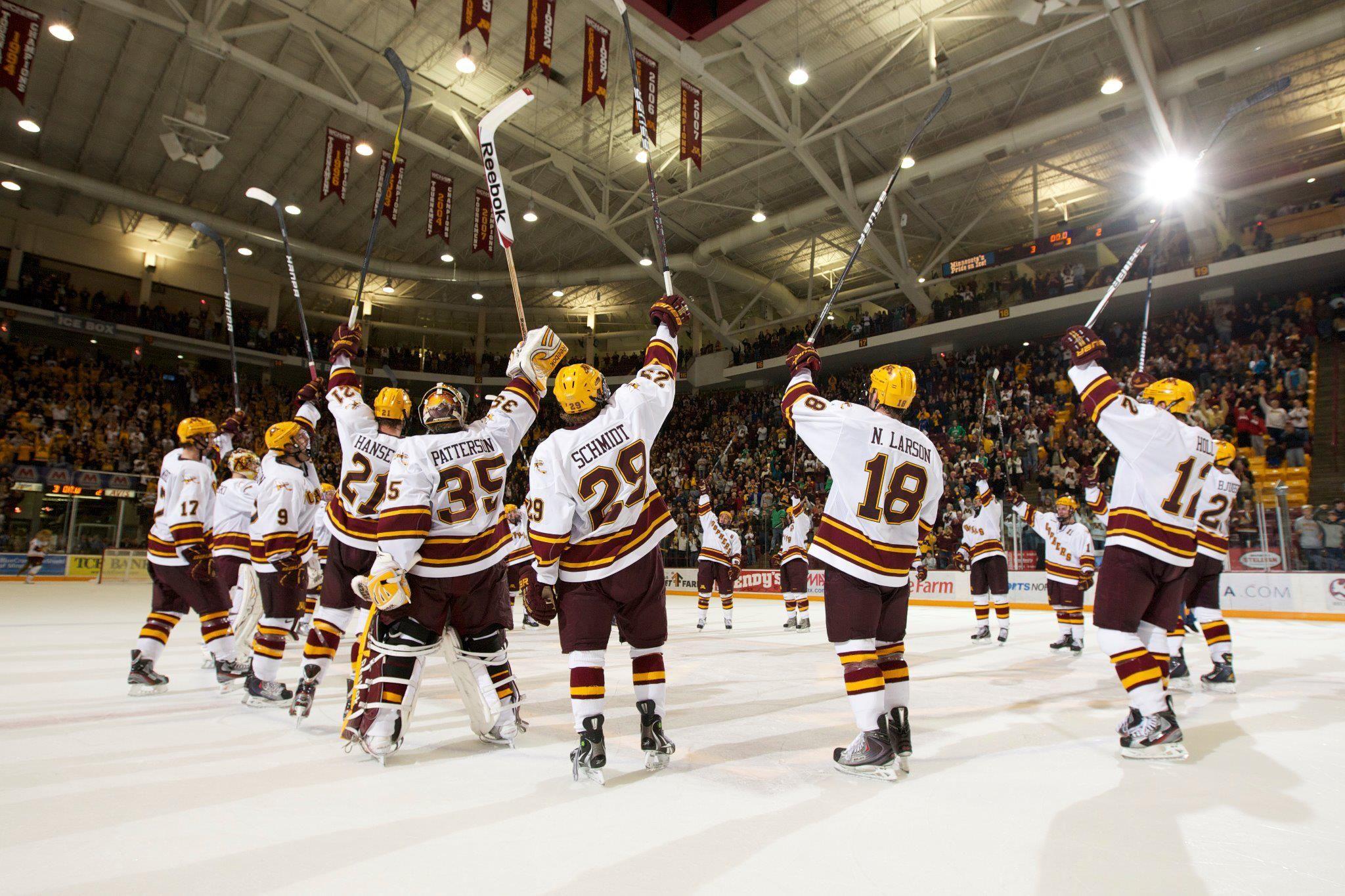 Gopher Hockey 3 College Hockey Gopher Hockey