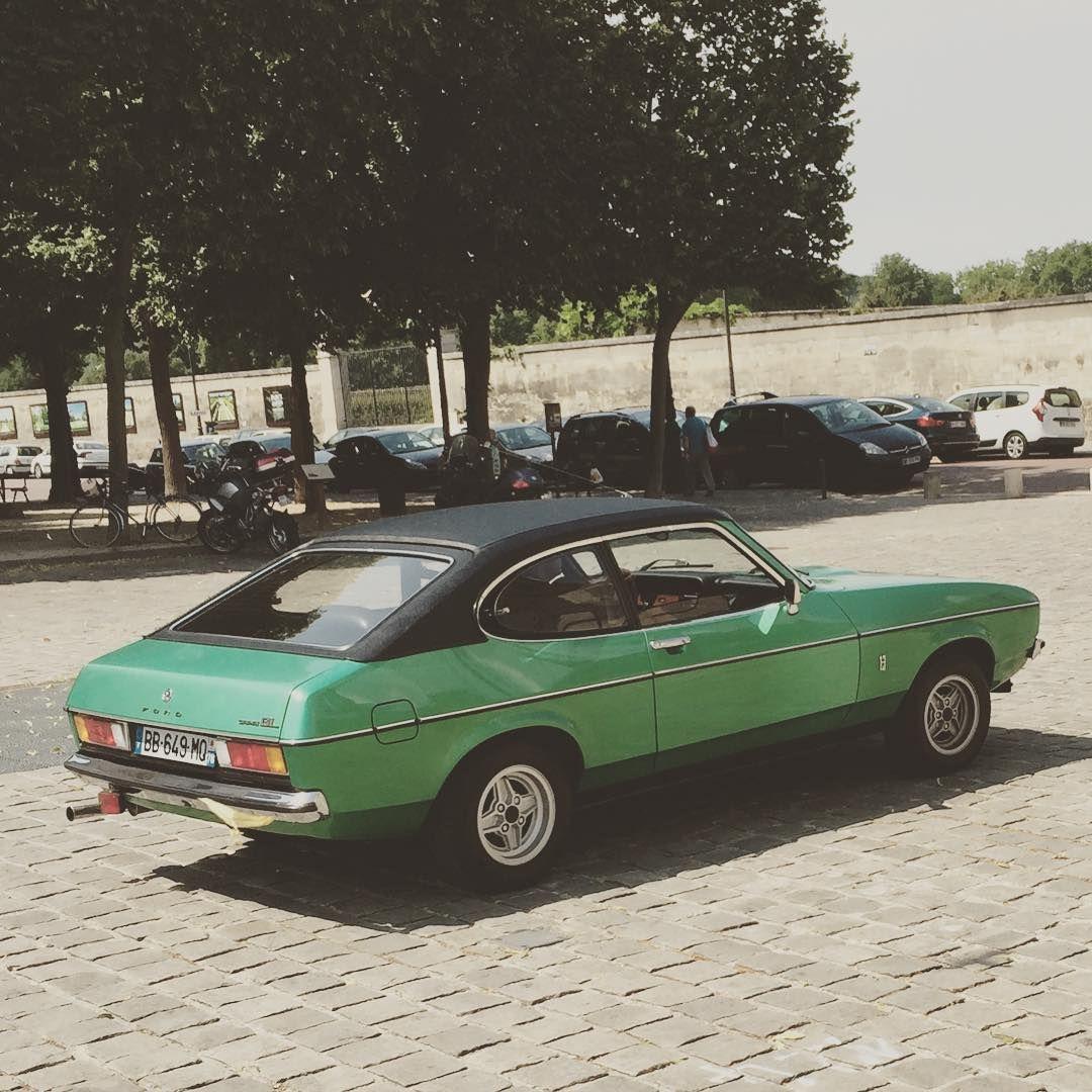 #ford #fordcapri #capri #oldcar #oldtimer #classiccar #retro #vintage #vintagecar