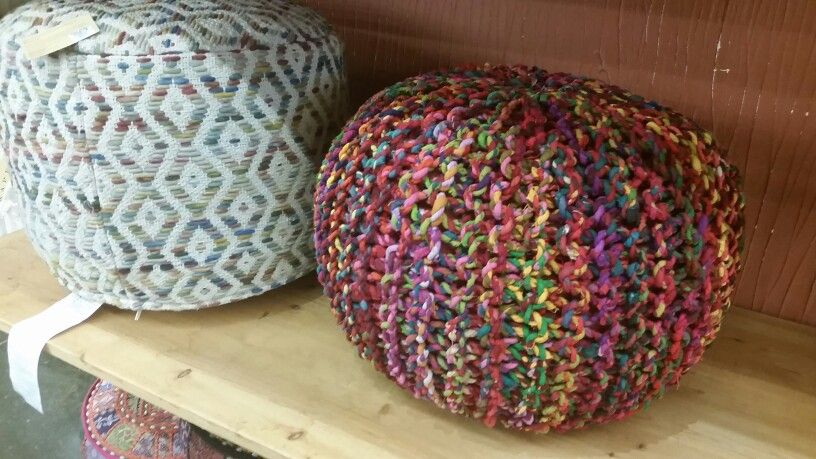 Great pouf for a kids room or boho chic room