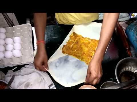 Moglai Parata Kolkata Style - Indian Street Food - YouTube
