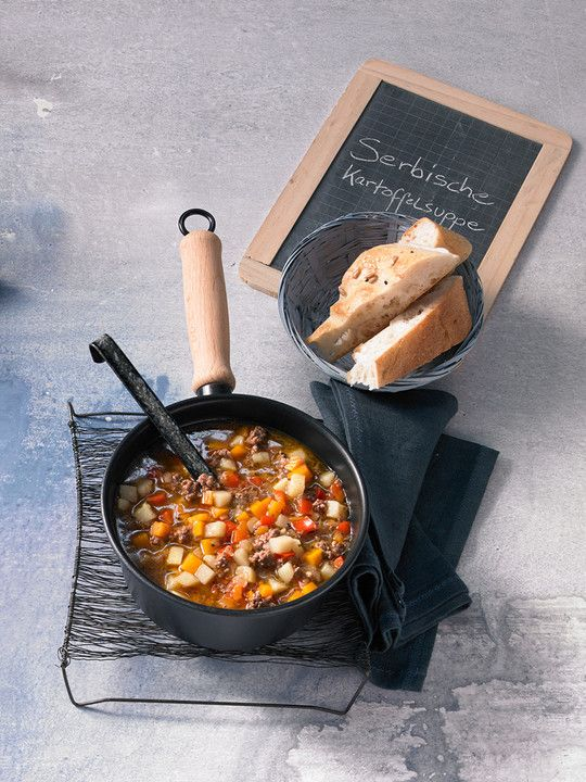 ungarische kartoffelsuppe die leckersten hauptspeisen pinterest suppen kartoffelsuppe und. Black Bedroom Furniture Sets. Home Design Ideas