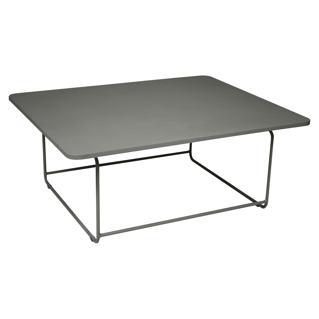 Ellipse Low Table Metal Table For Outdoor Living Space Low