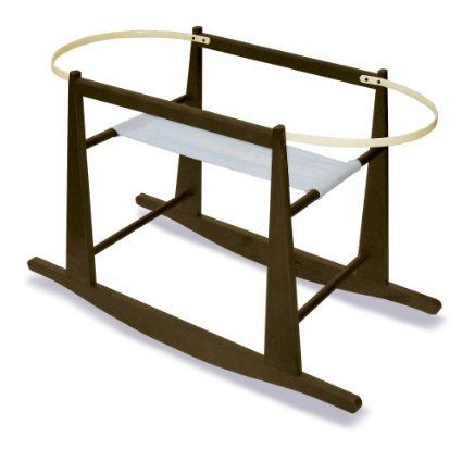 Amazon Com Rocking Moses Basket Stand Expresso Baby 46 92 Baby