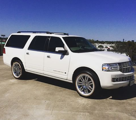 Lincoln Navigator On Vogue Tyres Nice Wheel Accessories Lincoln Navigator Car Collection