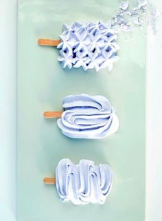 "MERINGUE ""POPSICLE"" [migogminmad] [novelty]"