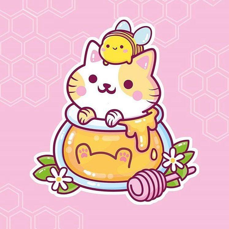 Buzzin With Cuteness Cute Art Everyday Made By Erikbuikema Tag Cutearteverday Cutear Cute Animal Drawings Kawaii Cute Kawaii Drawings Kawaii Doodles