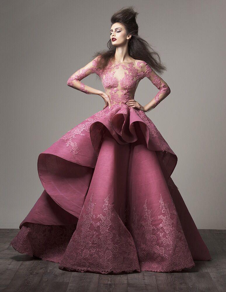 Saiid Kobeisy Haute Couture Fall 2015-16.