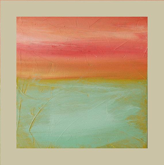 Acrílico abstracto pintura Original fino arte por avaavadonstudio